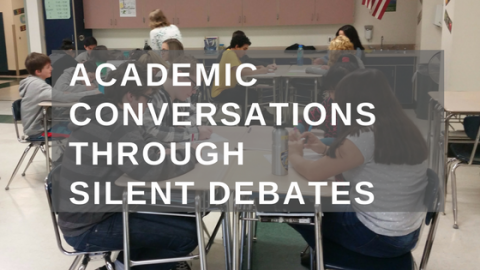Academic Conversation Through Silent Debates